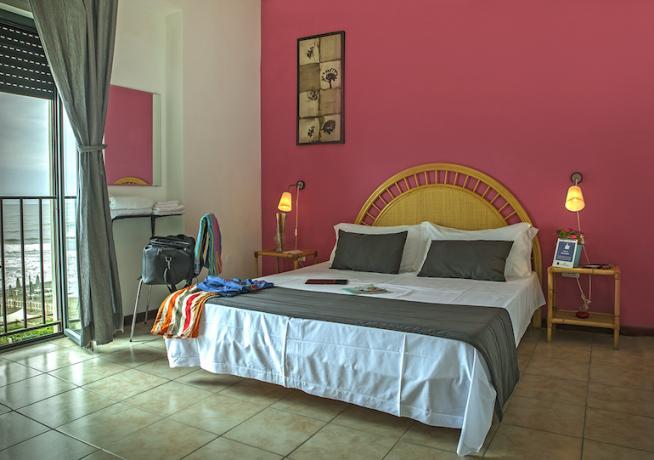 camera matrimoniale vista mare hotel Minturno