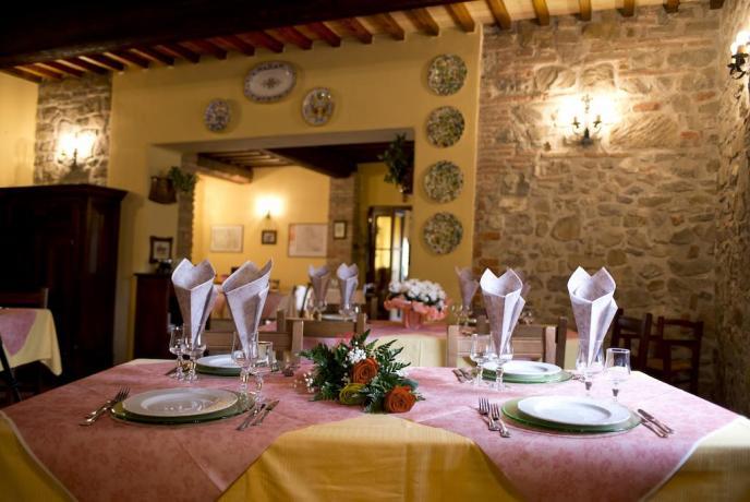 Agriturismo con Ristorante a Bettona in Umbria