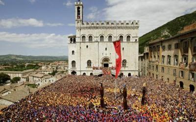 Appartamenti a Gubbio per la corsa dei Ceri