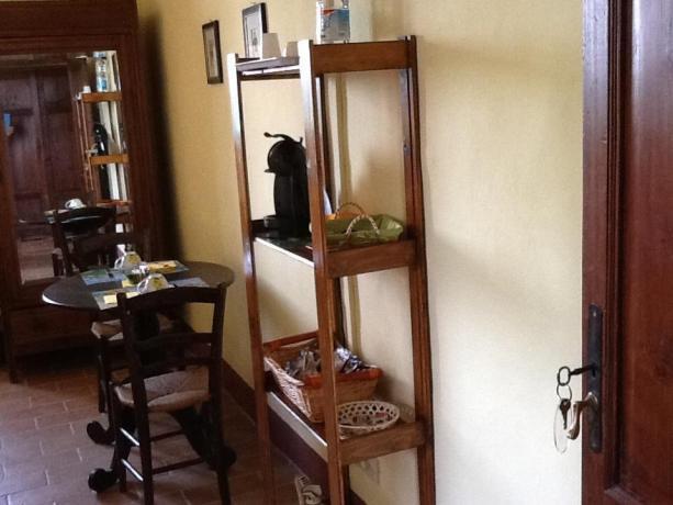 Appartamenti con tavolo per mangiare
