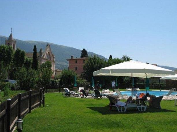 Ristorante Esterno in Agriturismo Assisi