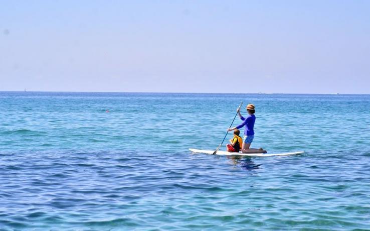 Canoa,Pedalò e Immersioni-Subacquee in Villaggio-Palinuro