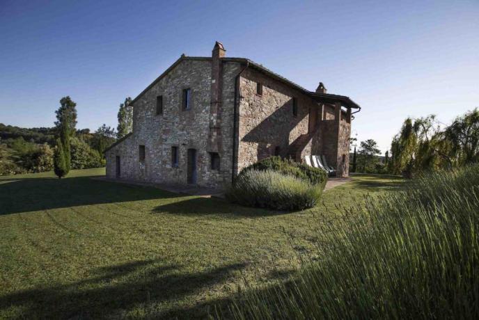 Villa Montepulciano per Famiglie-Gruppi con Piscina