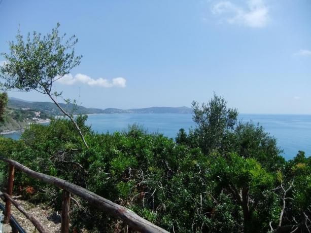 Vista panoramica Campeggio Capo Palinuro