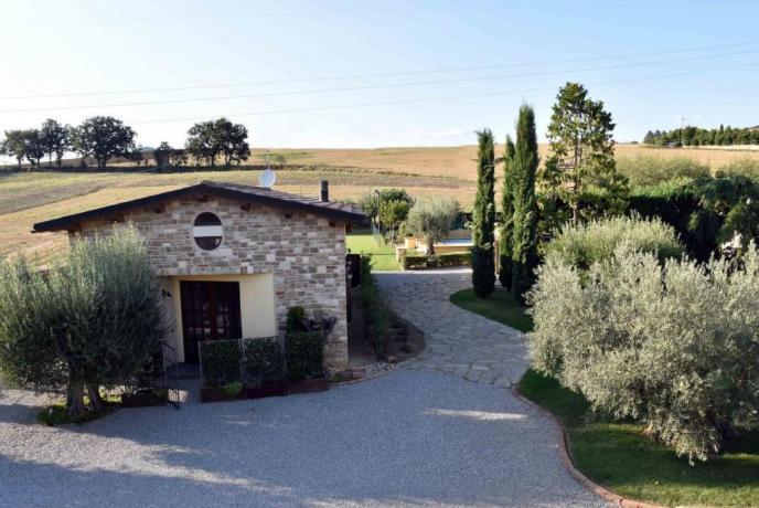 Romantico Villino con Piscina a Perugia