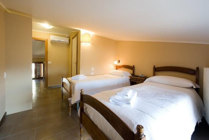 Appartamento con due letti singoli ad Assisi