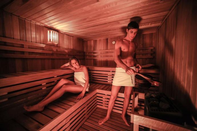 Centro benessere con sauna hotel3stelle Lavarone-Trento