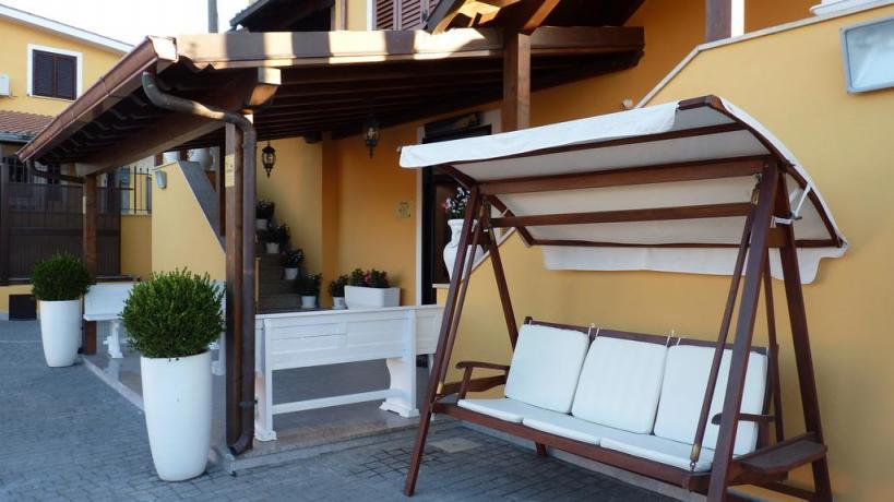 Esterno dell'Hotel a Frascati, vicino centro di Roma