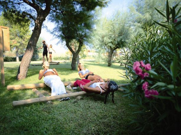Fitness, Villaggio totalmente attrezzato in Puglia
