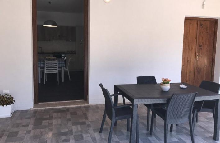 Veranda in appartamento vacanze San-Vito-lo-Capo