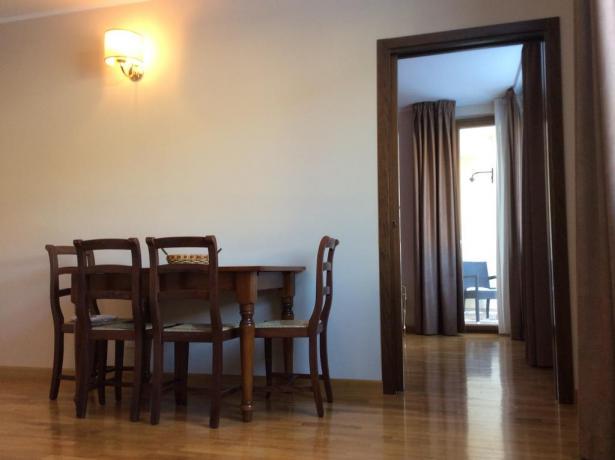 Ampi appartamenti per famiglie a Foligno