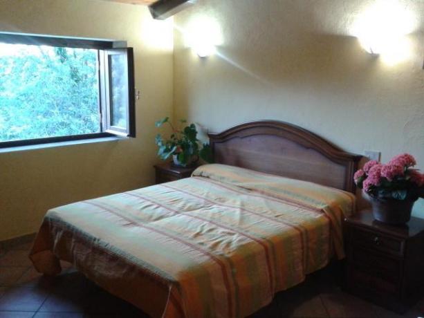 camere private con bagno, agriturismo vicino rainbow magicland