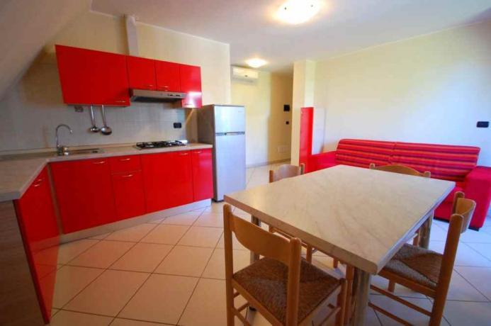Appartamento bilocale con divano letto
