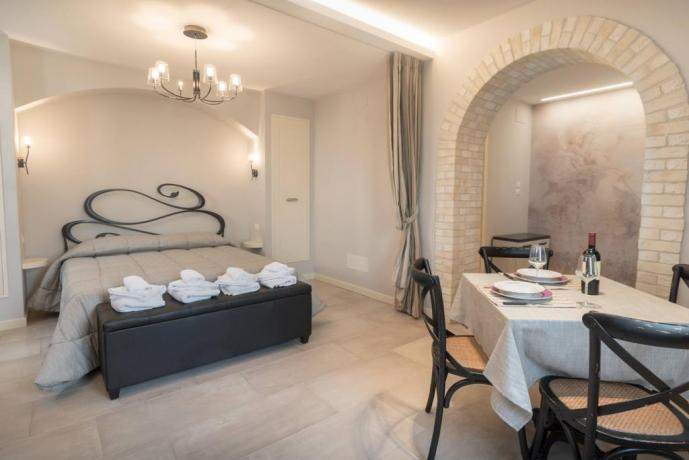 Suite matrimoniale o quadrupla con angolo cucina