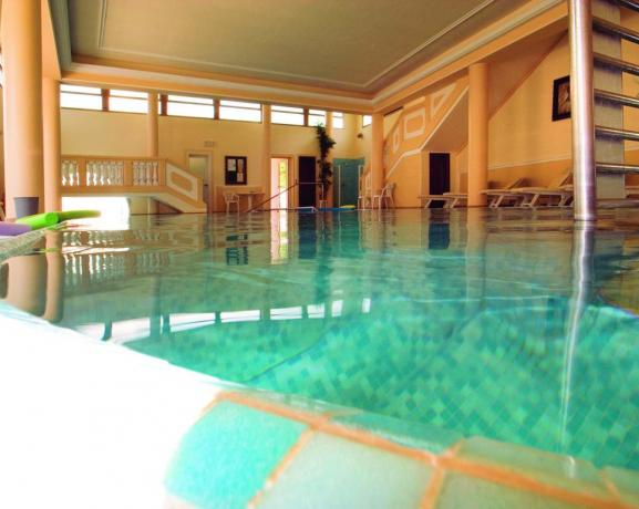 Centro benessere Hotel con piscina