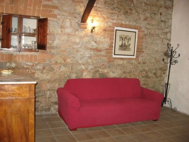 Appartamento Cerro divano letto Castiglione del Lago
