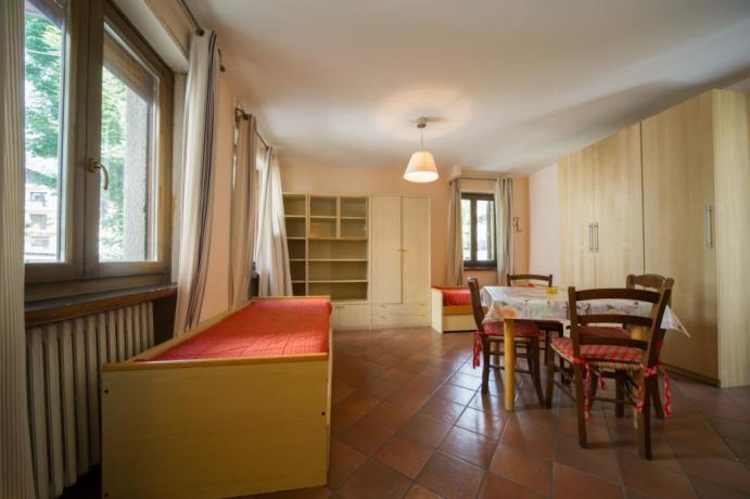 Appartamenti-vacanze Bardonecchia monolocale classico 2-3-4persone