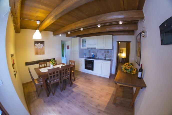 Appartamenti con spazioso angolo cucina in Emilia
