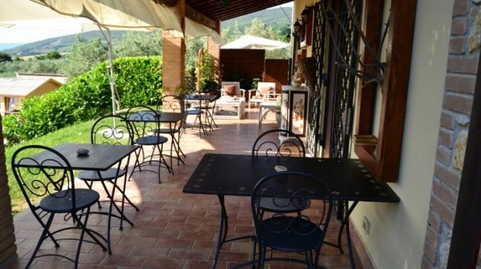 Casale veranda giardino Montecchio vicino Orvieto
