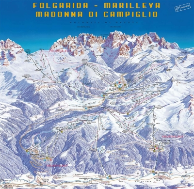Madonna di Campiglio Hostel Residence Hotel Apartments near Madonna