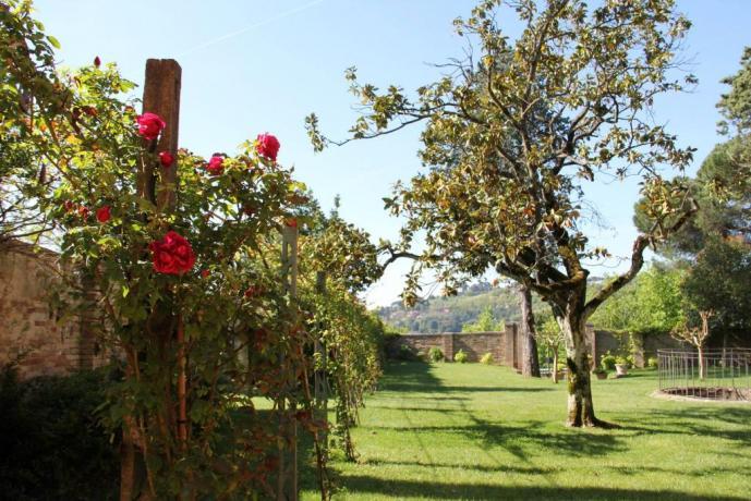 Villa con grande giardino vicino Assisi