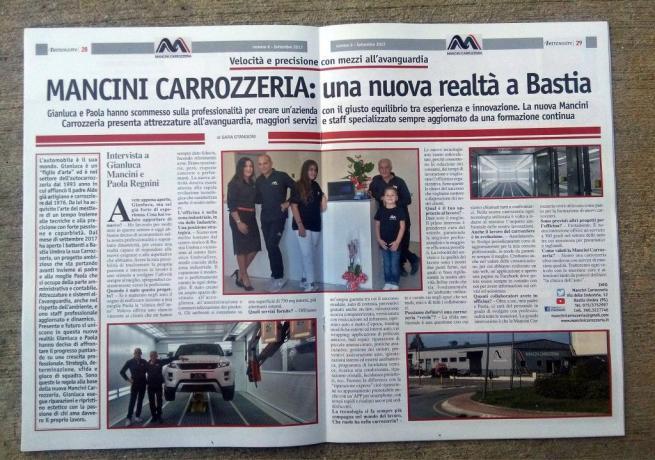 Riparazione Cristalli e Scocca Perugia Assisi Carrozzeria Mancini