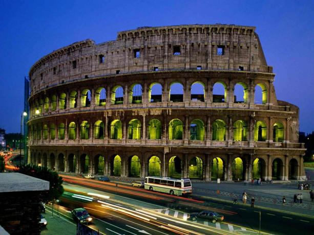 Il magnifico Colosseo di Roma