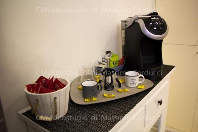 SPA Suite con tisaneria e angolo caffè