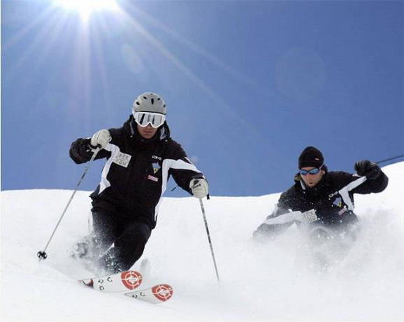 Piste da sci a Campo Felice