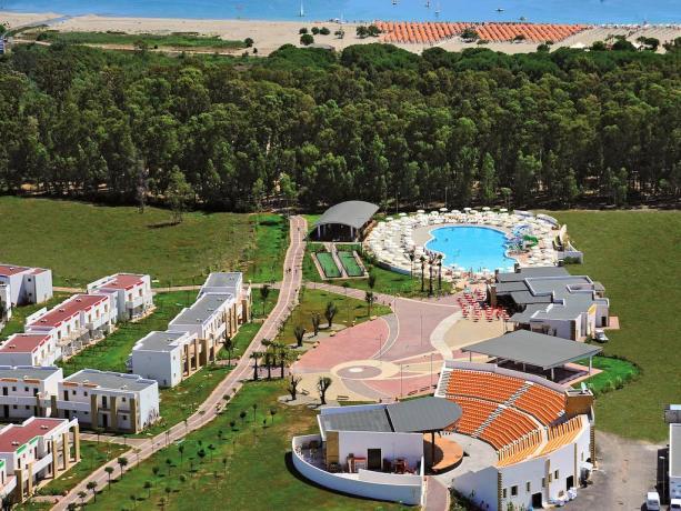 Villaggio turistico vicino al Mare in Calabria