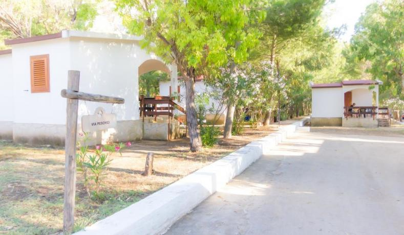 Appartamenti e bungalow in villaggio vacanza