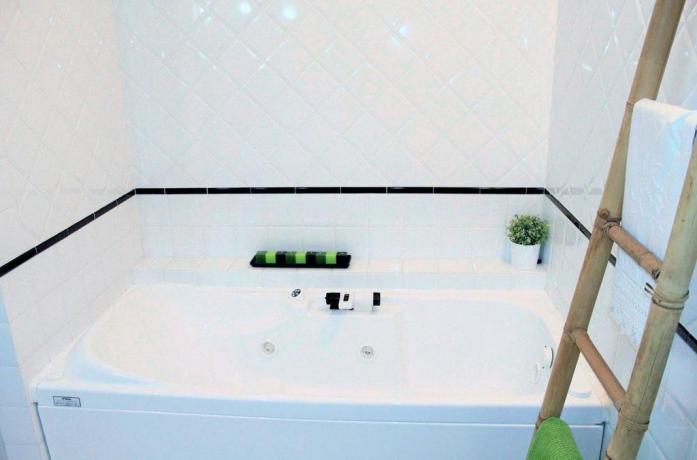 Vasca da bagno in B&B vicino Arezzo