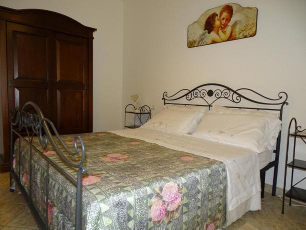 Camera Matrimoniale in Residence con Piscina