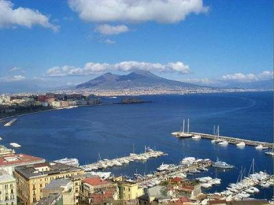 Hotels Near The Sea Overlooking Vesuvio