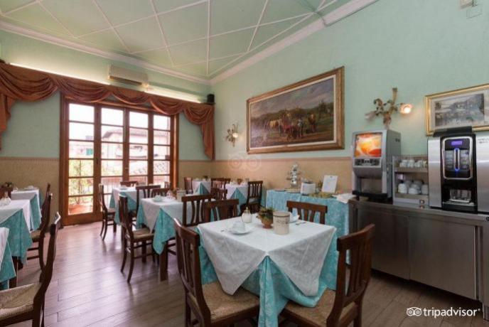 Prima Colazione a Buffet Hotel Firenze Centro