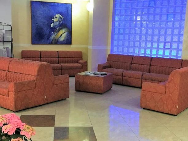 Hotel3stelle al Centro di San-Giovanni-Rotondo vicino-Musei