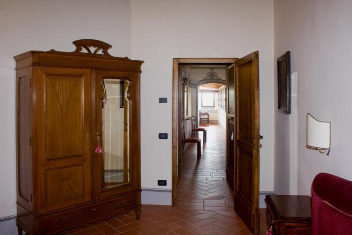 grande appartamento vacanze Fiordaliso 2persone Toscana-Arezzo