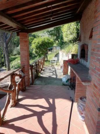 Giardino in villa-esclusiva con forno e barbecue Collodi