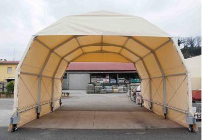 tunnel mobile con telo pvc