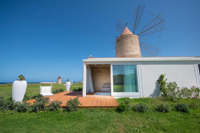 Resort4stelle a Trapani con Vista Giardino-Mare
