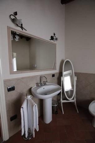 bagno privato suite matrimoniale Chianti Toscana Firenze