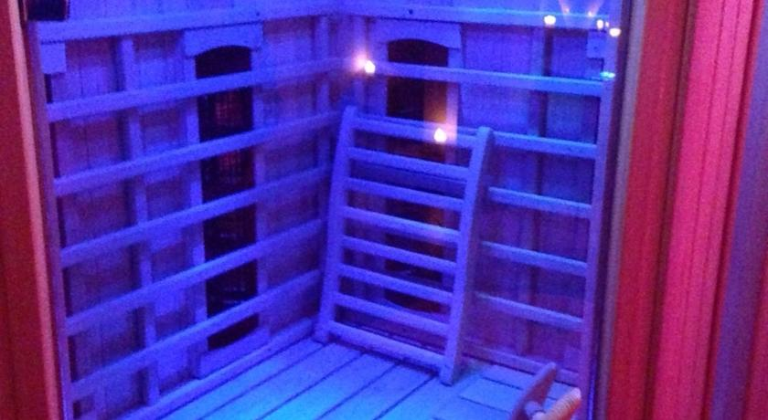 Sauna in Spa Suite Imperiale