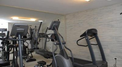 Sala Fitness al Residence in Trentino