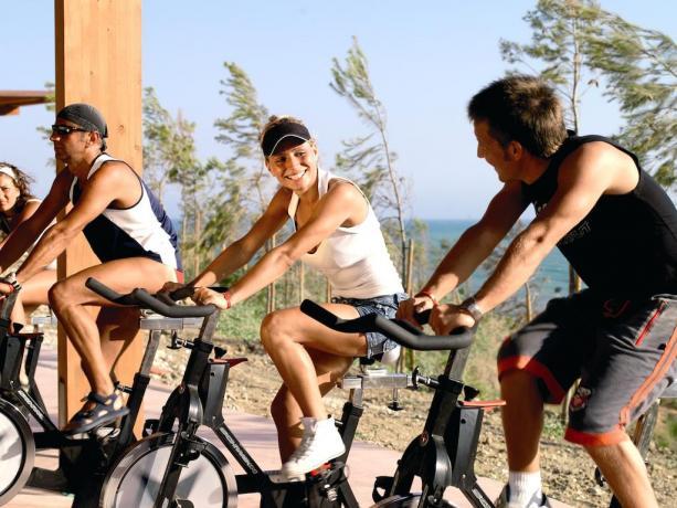 Area Fitness Palestra Attrezzata Villaggio Sportivo