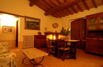 Atmostera calda bellissimo casale Umbria
