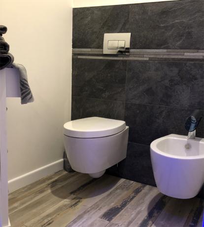 Bagno privato Luxury Suite Assisi