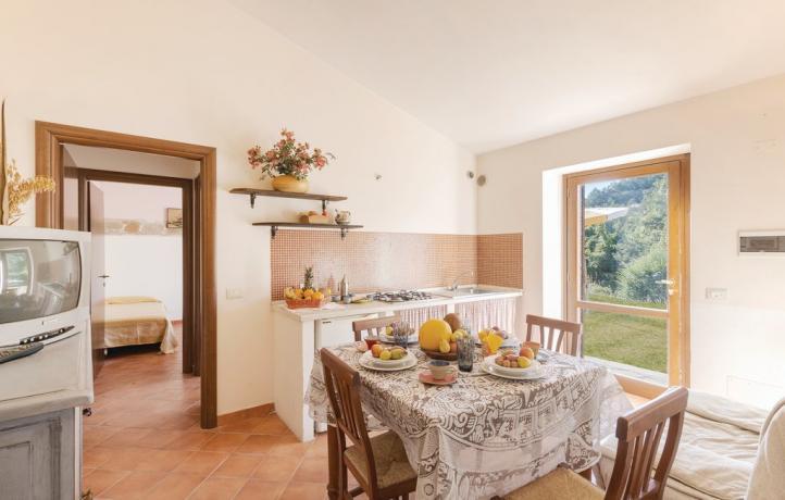 Appartamento Vacanza Apecchio: soggiorno Trilo 5/7 pax