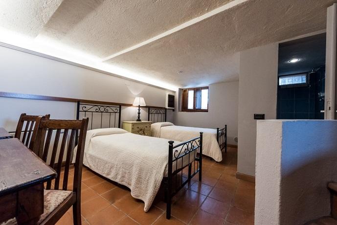 Camera con 2 letti Villa Piscina Coperta Trasimeno