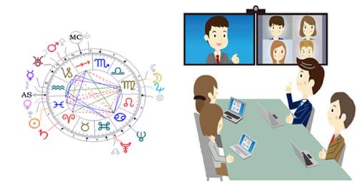 Corso di Astrologia Umanistica Evolutiva - PRIMO LIVELLO on-line in videoconferenza