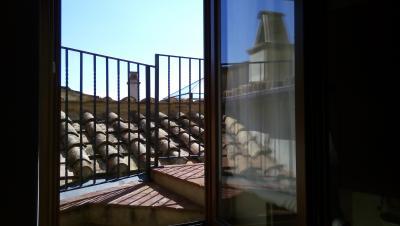 Appartamento Platea terrazzo con vista su Amelia